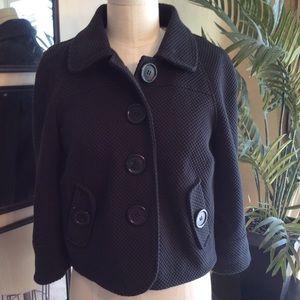 Vintage Style Cropped Jacket